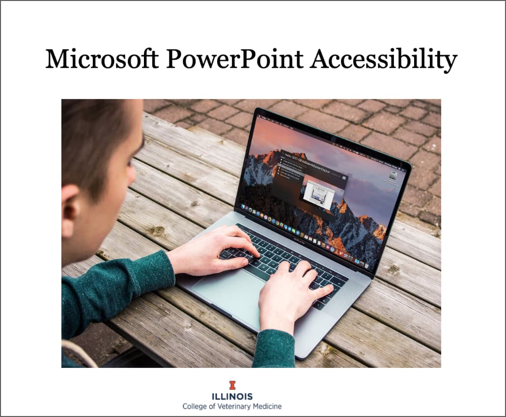 PowerPoint Accessibility Presentation