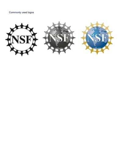 NSF logos