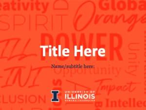 University of Illinois PowerPoint-Orange-standard sz-1