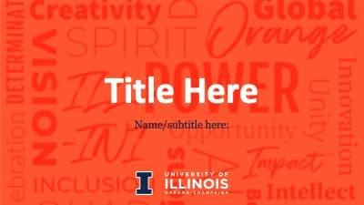 University of Illinois PowerPoint-Orange-wide sz-1