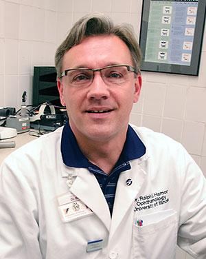 [Veterinary ophthalmologist Ralph Hamor]