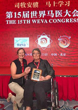 [Dr. Kate Savage adn Dr. Pamela Wilkins at WEVA 2018]