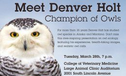 [denver holt - wildlife medical clinic event]