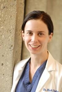 [Veterinary surgeon Heidi Phillips]