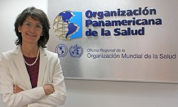 [Dr. Maureen BIrmingham in her Mexico City office]