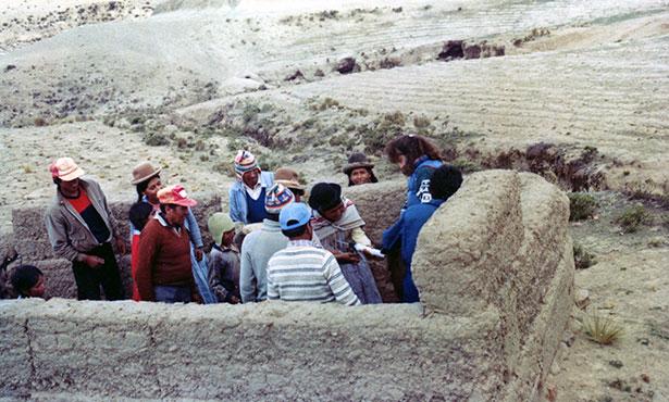 [Livestock management in Bolivia]