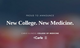 [Proud to announce new college, new medicine]