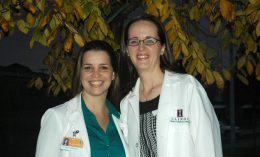 Dr. Bianca Martins and Dr. Katie Fleming