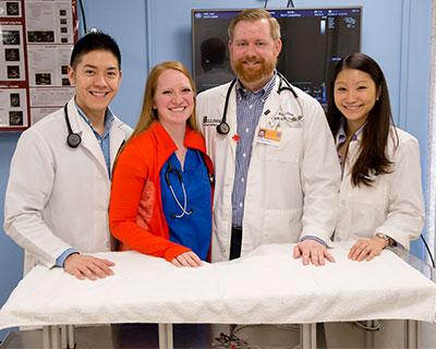 [Illinois veterinary cardiology team]
