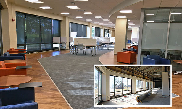 [New Learning Commons at the College of Veterinary Medicine]