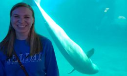 Sarah Wright at Shedd Aquarium