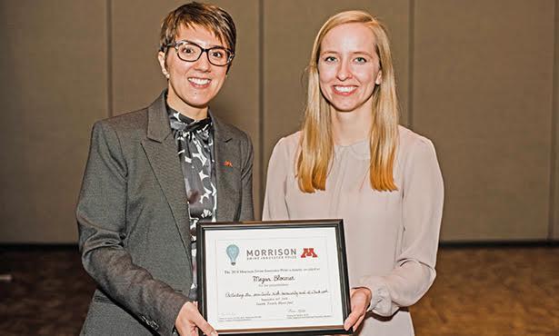student wins inaugural award