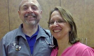 [Dr. Paul Davis and Dr. Karin Crocker]