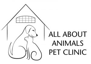[All About Animals Pet Clinic logo]