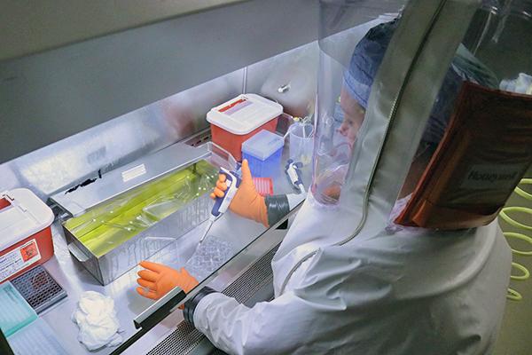 [BSL4 lab procedure]