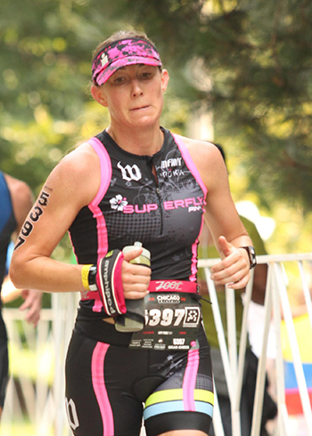 [Dr. Connolly at the Chicago Triathlon]