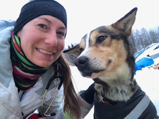 [Dr. Connolly at the Iditarod]