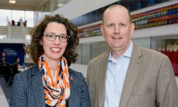 [Drs. Ashley Mitek and Jim Lowe]
