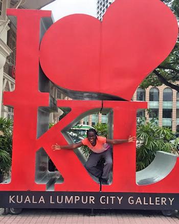 [Taylor Willis in Malaysia]