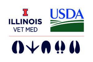Illinois Vet Med/USDA NADPRP Logo