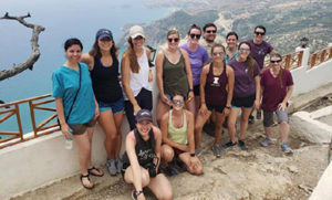 [Drs. and Students in Rhodes, Greece]