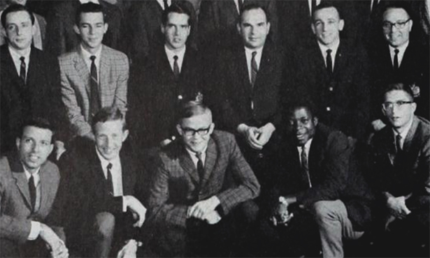 Dr. Agwuna and Dr. Small in 1967