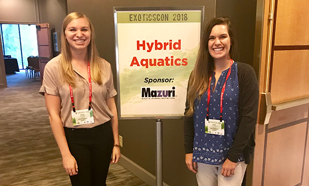 Third-year veterinary student, Sarah Wright, and Laura Rasche, Class of 2020 at the University of Georgia College of Veterinary Medicine.
