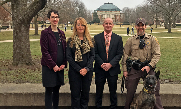 [Illinois releases working dog opioid reversal video]