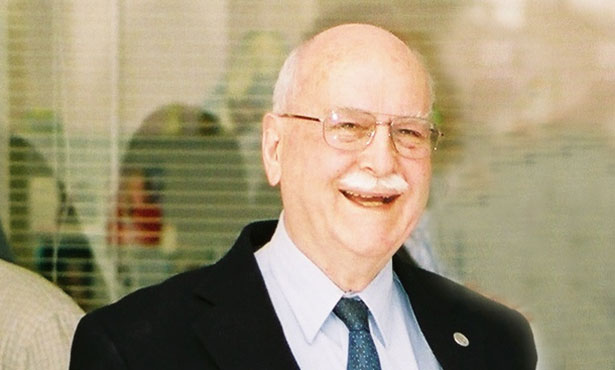 [Dr. Ted Valli at a reception at the University of Illinois in 2008]