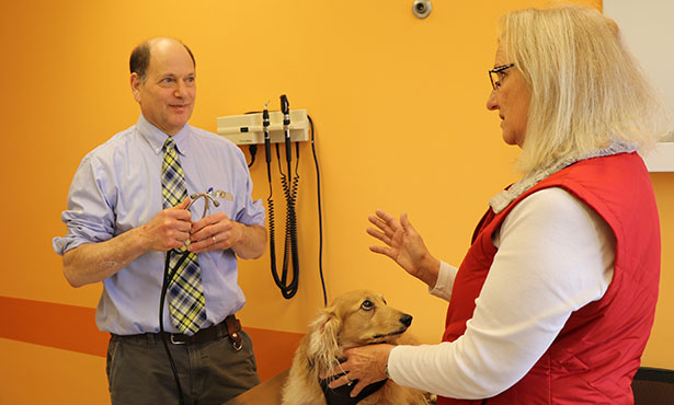 Dr. Stan Rubin and Connie Large